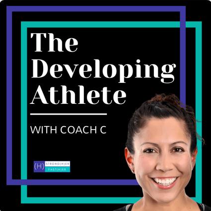 developing athlete podcast image